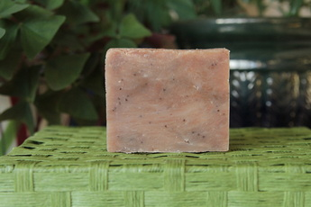 Goat milk soap, natural soap, homemade, Strawberry shortcake